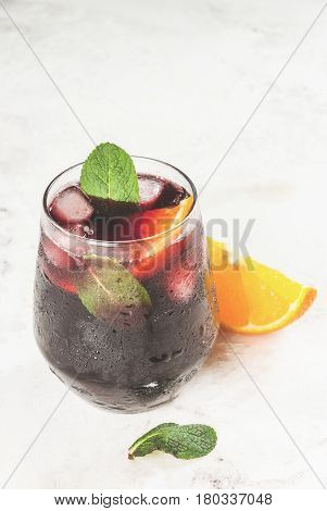 Traditional Spanish Cocktail, Tinto De Verano