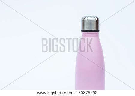 Warm bottle isolated on white background, stock photo