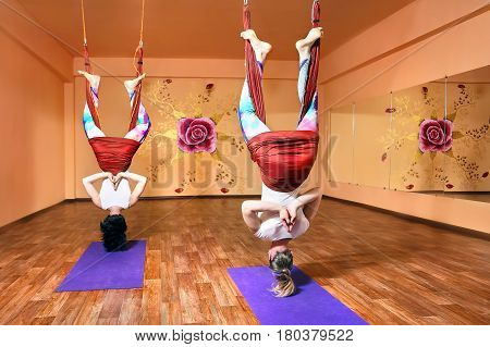 Antigravity Yoga At Hammock