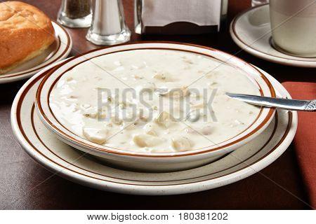 New England Style Clam Chowder
