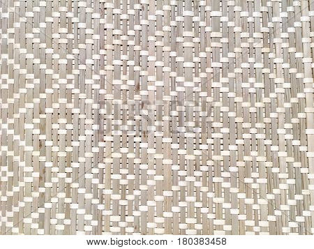 Background Pattern Brown Rattan Handicraft Weave Texture Wicker Surface for Furniture Material.