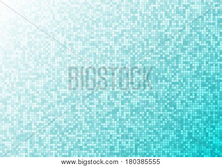 Abstract bright mosaic gradient background light blue. Suitable for Wallpaper, web background, and presentations. .