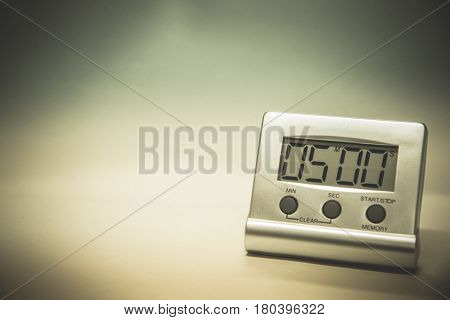 Timer Laboratory Equipment Testing Couting  Dow Of Time.