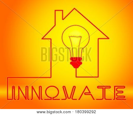 Innovate Light Means Innovating Creative And Ideas