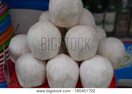 Fruits of a coco have interesting property - they incredibly easy and waterproof