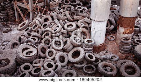 Dump Tires.