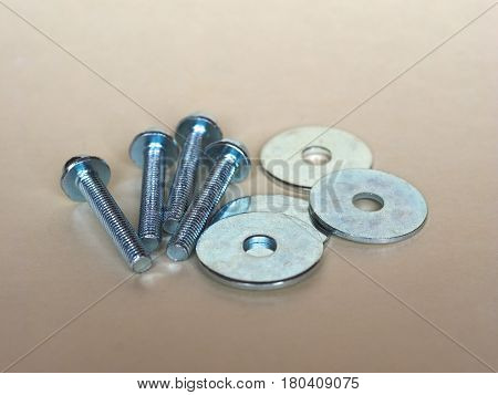 Bolt Fastener And Washer