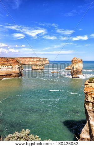 Beautiful view on the apostoles, Great Ocean Road, Australia