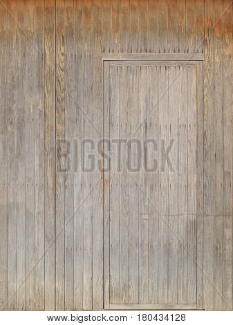 camouflage symbol with invisible hidden vintage door