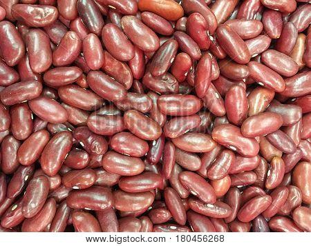 Adzuki bean background or red bean background