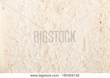 White bread slice texture / background .