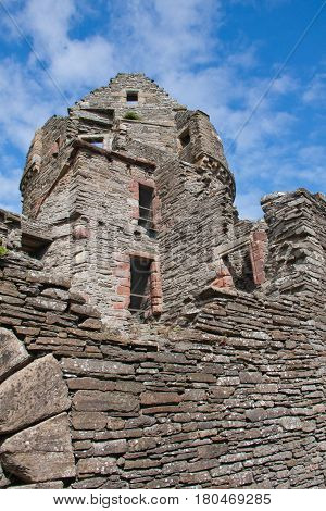 Ruined Tower Bishop's Palace Kirkwell, Orkney Islands
