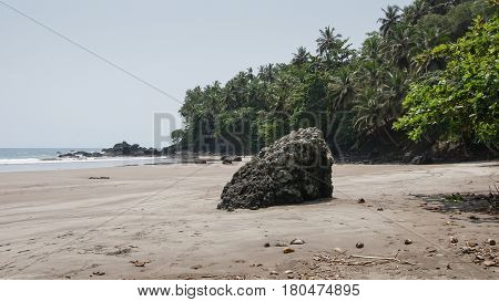 Seven Wave Beach, Sao Tome and Principe, Africa