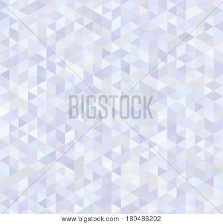 Bright glossy triangles, abstract brilliant seamless pattern