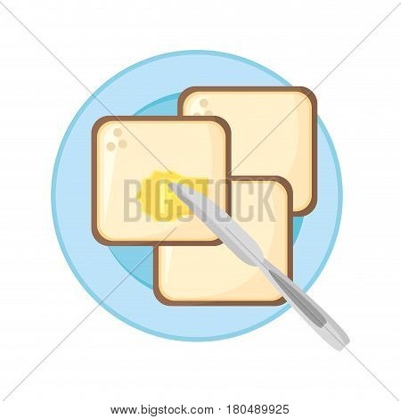 carbohydrate food healthy nutrition image vector illustration eps 10