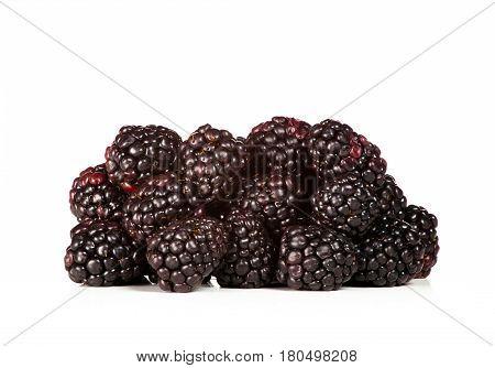 Heap Of Fresh Blackberry