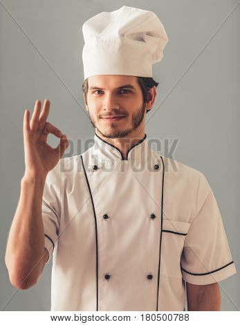 Handsome Young Cook