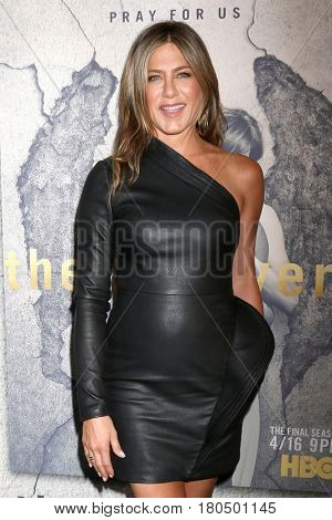 LOS ANGELES - APR 4:  Jennifer Aniston at the Premiere Of HBO's