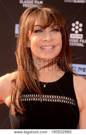LOS ANGELES - APR 6:  Illeana Douglas at the 2017 TCM Classic Film Festival Opening Night Red Carpet at the TCL Chinese Theater IMAX on April 6, 2017 in Los Angeles, CA