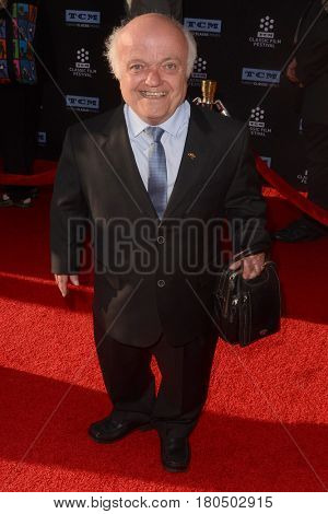 LOS ANGELES - APR 6:  Rusty Goffe at the 2017 TCM Classic Film Festival Opening Night Red Carpet at the TCL Chinese Theater IMAX on April 6, 2017 in Los Angeles, CA