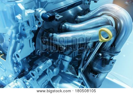 pipeline of car engine section