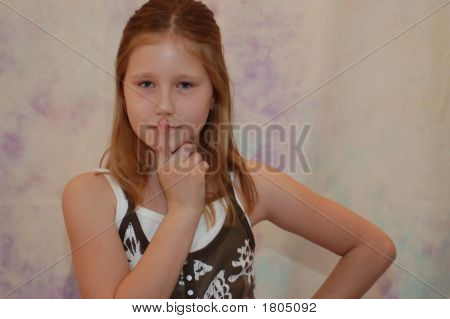 Portrait Of A Young Girl 10