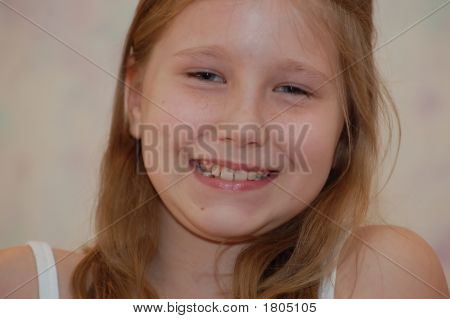 Portrait Of A Young Girl 3