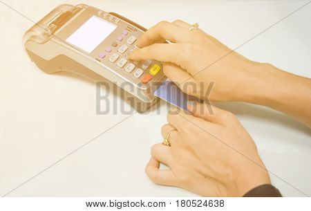 Terminals Online of purchases and Online shopping
