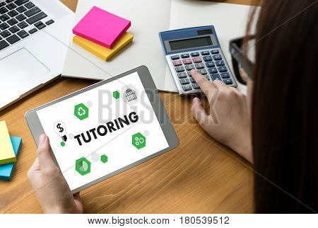 Tutoring And His Online Education , Learning Education Teacher , Tutor Coach Management