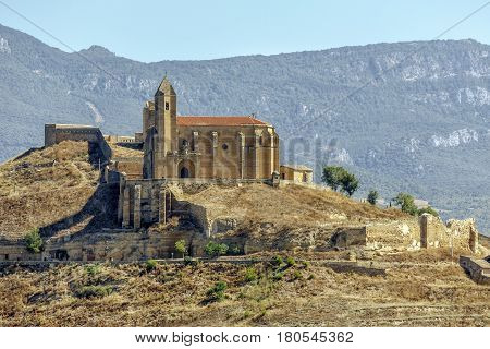 castle of san vicente de la sonsierra in la rioja Spain