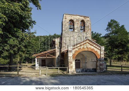 Chapel of Our Lady of the mountains of Oca Burgos Spain