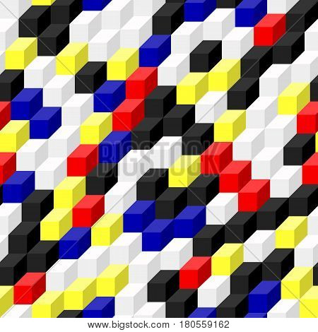 Geometric Background. Vector Illustration