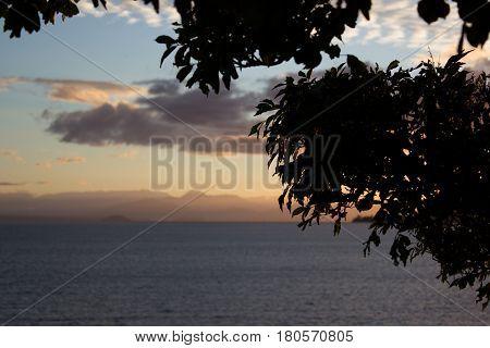 Sunset On Lake Taupo