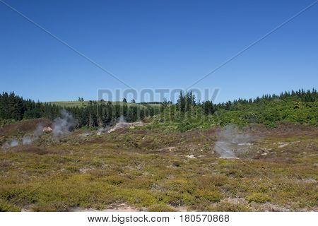 Hot Steam Craters