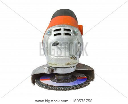 Power Grinder Cutout On White Background