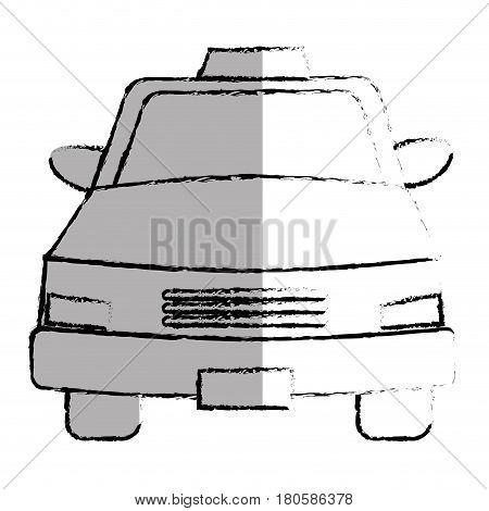 taxi service public icon vector illustration design