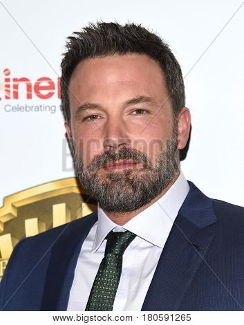 LOS ANGELES - MAR 29:  Ben Affleck arrives for the CinemaCon 2017-Warner Brothers on March 29, 2017 in Las Vegas, NV