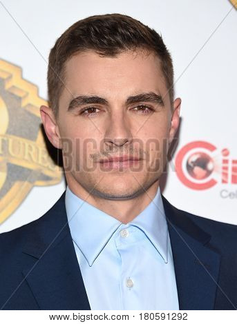 LOS ANGELES - MAR 29:  Dave Franco arrives for the CinemaCon 2017-Warner Brothers on March 29, 2017 in Las Vegas, NV