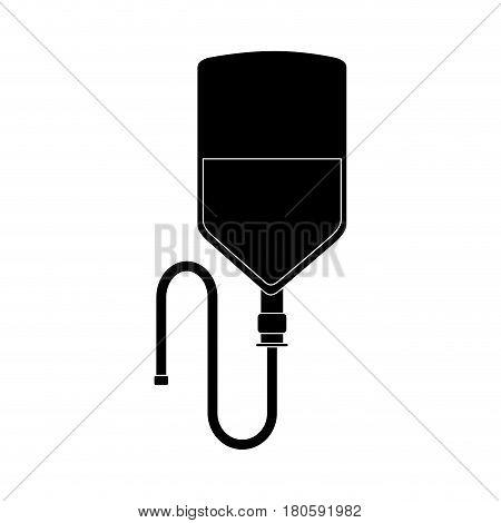 donate blood bag icon vector illustration design