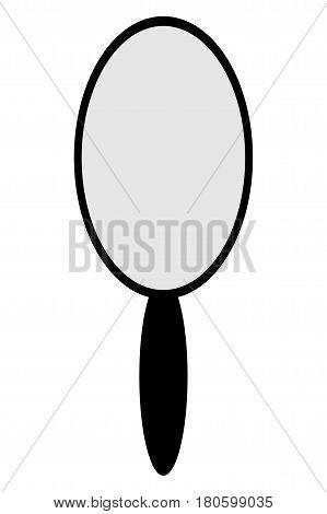 Mirror icon vector illustration , mirror icon