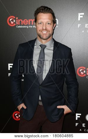 LAS VEGAS-MAR 29: Director David Leitch attends the Focus Features presentation at Caesars Palace during CinemaCon on March 29, 2017 in Las Vegas, Nevada.