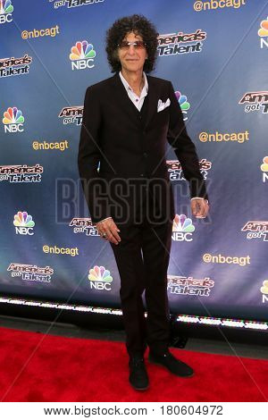NEW YORK-AUG 11: Radio personality Howard Stern attends the 'America's Got Talent' season 10 taping at Radio City Music Hall on August 11, 2015 in New York City.
