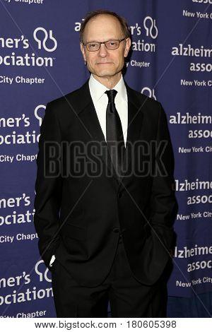 NEW YORK-JUN 8: Actor David Hyde Pierce attends Alzheimer's Association New York City Chapter's 2015