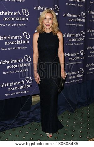 NEW YORK-JUN 8: Kim Campbell, wife of Glen Campbell, attends Alzheimer's Association New York City Chapter's 2015