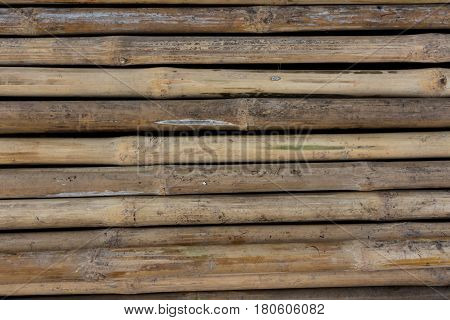 Background bamboo Bamboo wall natural materials .