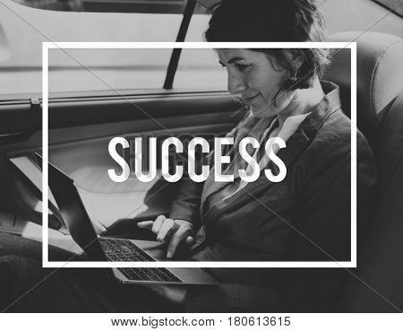 Success Mission Achievement Growth Business Word