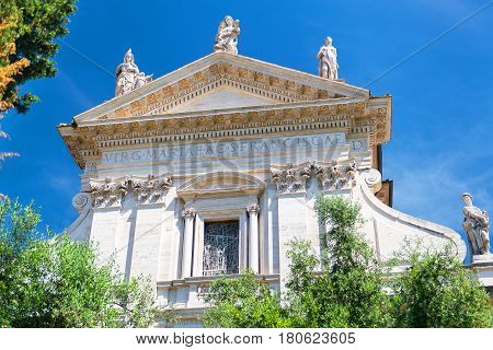 The church Santa Francesca Romana in Roman Forum, Rome, Italy