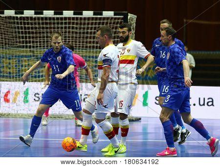 Uefa Futsal Euro 2018 Qualifying Tournament In Kyiv