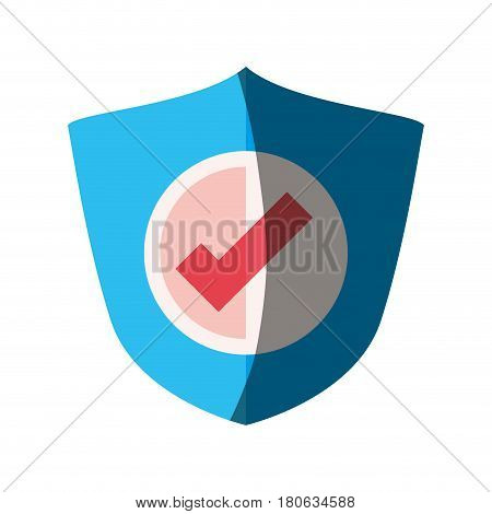 Antivirus shield sign icon vector illustration graphic design