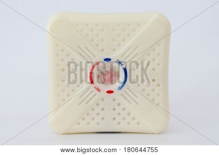 Silica gel packed in white plastic box